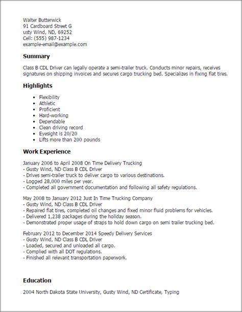 Cdl Resume  Resume Badak