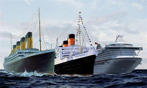 titanic vs two ships by kanetakerfan701 on deviantart