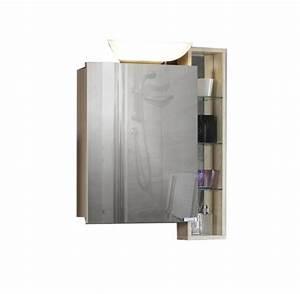 Regal Mit Spiegel : neu spiegelschrank mit regal esche braun badm bel spiegel badspiegel badezimmer ebay ~ Markanthonyermac.com Haus und Dekorationen