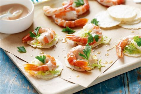 prawn cocktail canapes recipes delicious au