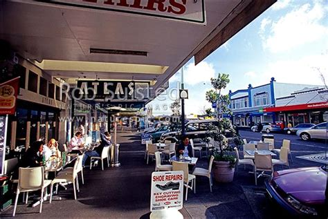 Ponsonby Road Footpath / Sidewalk Café, In Ponsonby, Auckland, Auckland City District, Auckland