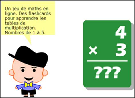 flashcards pour r 233 viser les tables de multiplications en ligne