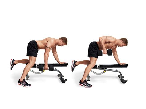 Dumbbell Row Video  Watch Proper Form, Get Tips & More