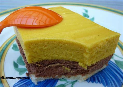 g 226 teau mousse chocolat mousse mangue une vraie gourmandise recette