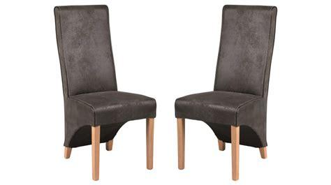 chaises design pas cher en microfibre grise chaise salle 224 manger