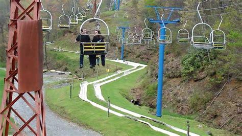 chairlift and alpine slide ober gatlinburg gatlinburg tennessee