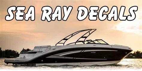 Sea Ray Boats T Shirts by Sea Ray Decals Sea Ray Sundancer Decals Sea Ray