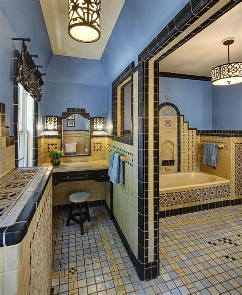 Trendy Twist To A Timeless Color Scheme Bathrooms In Blue