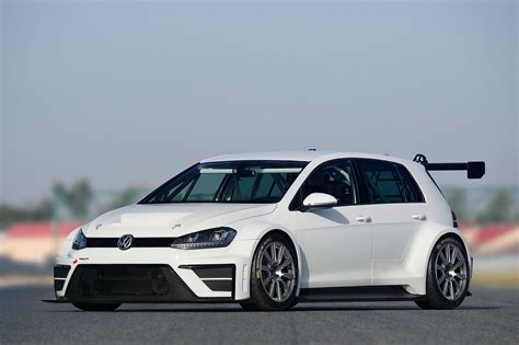 vw dabbles in touring cars with new 2015 golf racer by car magazine