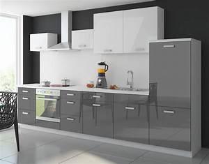 Küchenfront Magnolie Hochglanz : graue kueche matt ~ Markanthonyermac.com Haus und Dekorationen