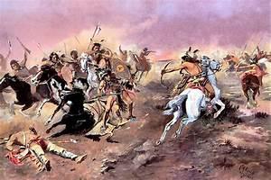 More Charlie Russell Menus: Indian Warfare