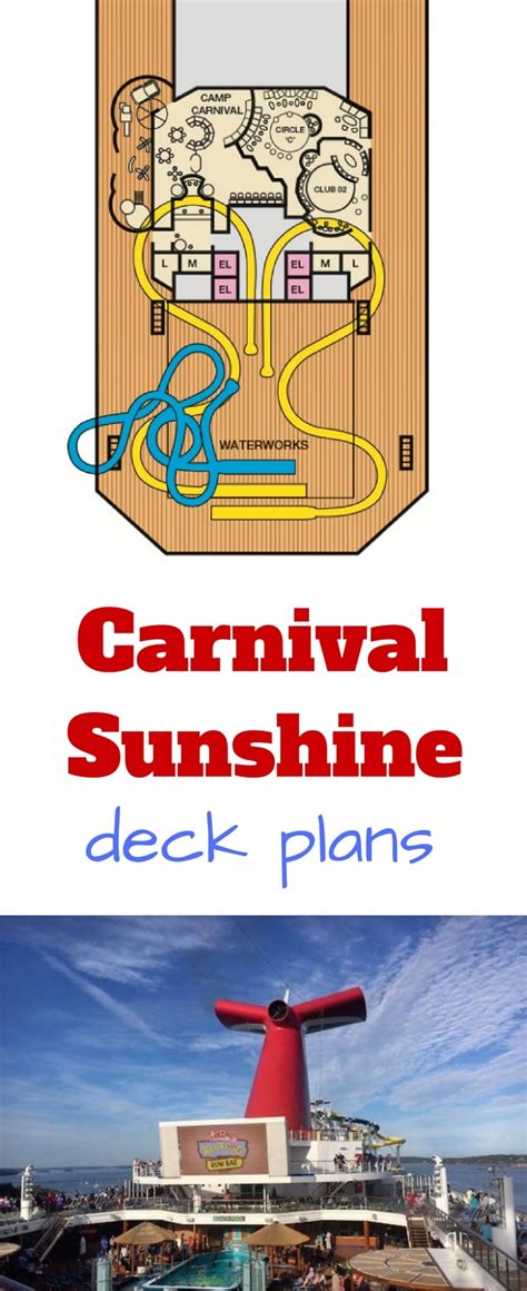 carnival deck plans cruise radio