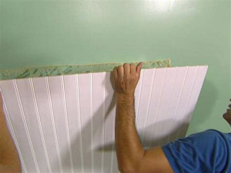 How To Install Beadboard Wainscoting  Howtos Diy