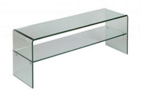 petit meuble t 233 l 233 en verre coins arrondis quot cl 233 o quot