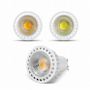 Led 5w Gu10 : gu10 3w 5w 7w cob led bulb spotlight 85 265v 220v 110v led light cob led lamp gu10 aluminum led ~ Markanthonyermac.com Haus und Dekorationen