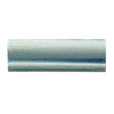 Solistone Handpainted Cancun Light Blue 2 In X 6 In