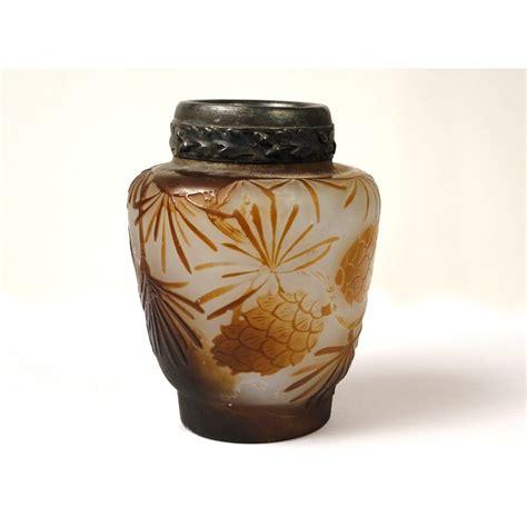 vase en p 226 te de verre sign 233 emile gall 233 224 d 233 cor de