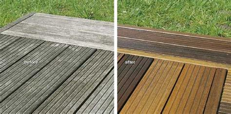 how to clean decking wood finishes direct