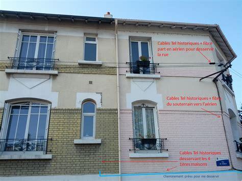 raccordement fibre optique maison individuelle en aerien ventana
