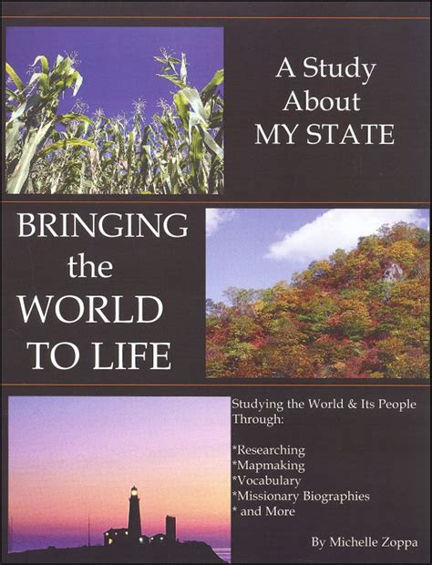 Bringing The World To Life A Study About My State (048795) Details  Rainbow Resource Center, Inc