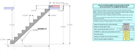 calcul escalier 1 4 tournant