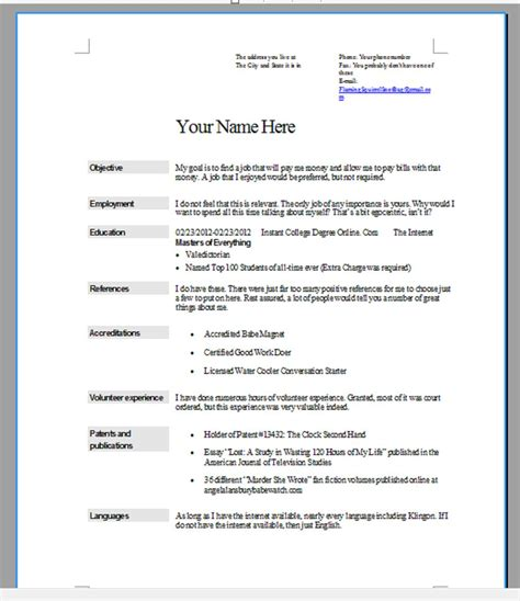 The Ultimate Résumé  The Life And Times Of Nathan Badley. Sample Resume For Maths Teachers. General Resume Templates. Cashier Resume Template. Impressive Resume Sample. Marketing Resume Summary. Sample Resume For Investment Banking Analyst. Plumber Resume Examples. Cover Page For Resume Examples