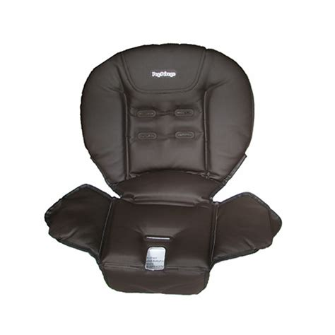 housse pour chaise haute prima pappa cacao peg perego