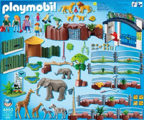playmobil 4850 jeu de construction grand zoo your 1 source for toys and