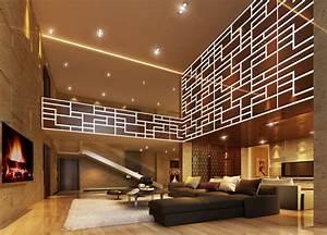 Beleuchtung Im Wohnzimmer : beleuchtung im wohnzimmer aequivalere ~ Markanthonyermac.com Haus und Dekorationen