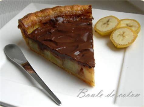 tarte banane chocolat recette ptitchef