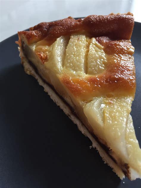 tarte poires et chocolat avec p 226 te sabl 233 e l 233 g 232 re et sa cuisine gourmande et l 233 g 232 re