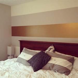 Effekt Farbe Streichen : wandgestaltung mit farben ideen in gold und goldnuancen ~ Markanthonyermac.com Haus und Dekorationen