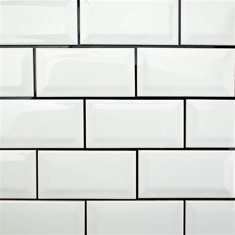 beveled subway tile white hairstyles