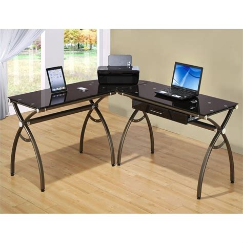 techni mobili l shaped chocolate computer desk ebay