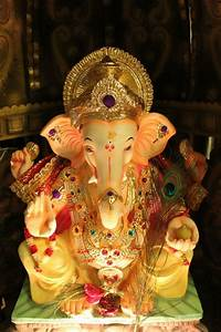 73 best images about GANPATI BAPPA DECORATION AT HOME on ...