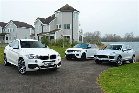 Bmw X6 Vs Range Rover Sport And Porsche Cayenne
