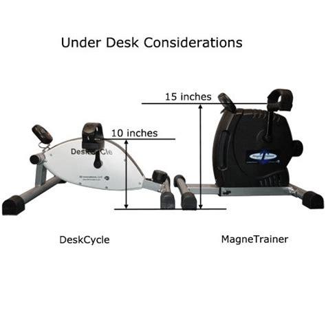 Pedal Exerciser Desk by Deskcycle Desk Exercise Bike Pedal Exerciser Healthy