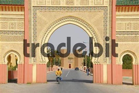 Modernes Orientalisches Stadttor Von Rissani Marokko
