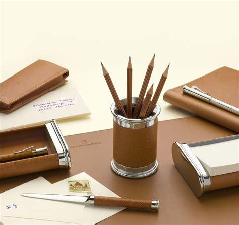 gvfc set d accessoires de bureau cuir epsom grain 233