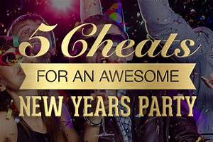 5 Cheats for Hosting an Awesome New Year's Party - StickerYou