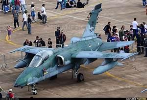 5515 - Brazil - Air Force Embraer AMX A-1A at Pirassununga ...
