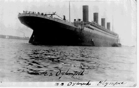 rms olympic white line