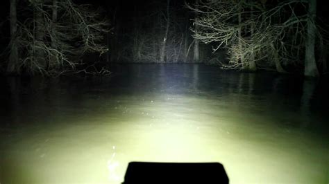 Boat Lights For Night Driving by Led Duck Boat Light Southern Lite Led 12 000 Lumen Youtube