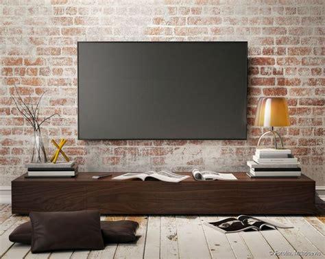 meer dan 1000 idee 235 n tv au mur op salon tv meuble suspendu en tv