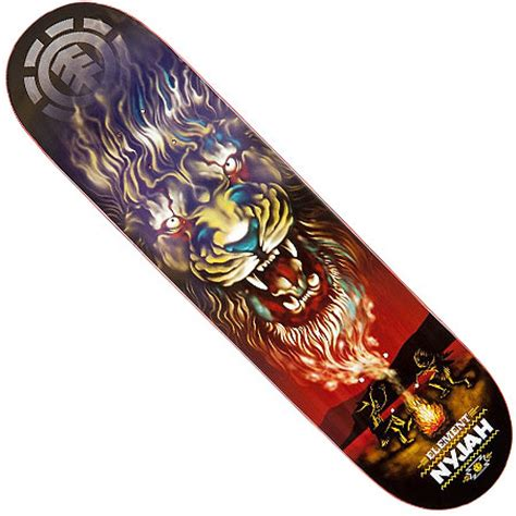 element nyjah huston smoke signal deck in stock at spot