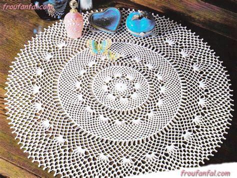 crochet napperons ronds et ovales le de crochet et tricot d de suzelle