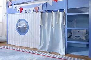 Hochbett Vorhang Nähen : vorhang f r hochbett kinderzimmer pinterest hochbetten vorh nge und kinderzimmer ~ Markanthonyermac.com Haus und Dekorationen