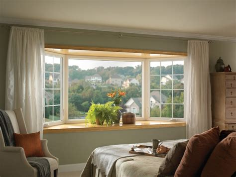 Impressive Window Treatment Ideas For Bay Windows Two Color Kitchen Cabinet Ideas Door Styles For Cabinets Wall High Gloss Paint Plan How To Install Hardware Pictures Of With Spray Painting White