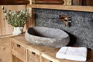 Waschbecken Arbeitsplatte Bad : marmor waschbecken stein ideen m bel aequivalere ~ Markanthonyermac.com Haus und Dekorationen