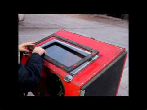 harbor freight sandblast cabinet upgrade cabinets matttroy